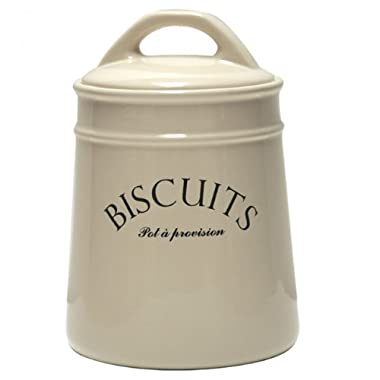 French-inspired  Biscuits  Cookie Jar Canister
