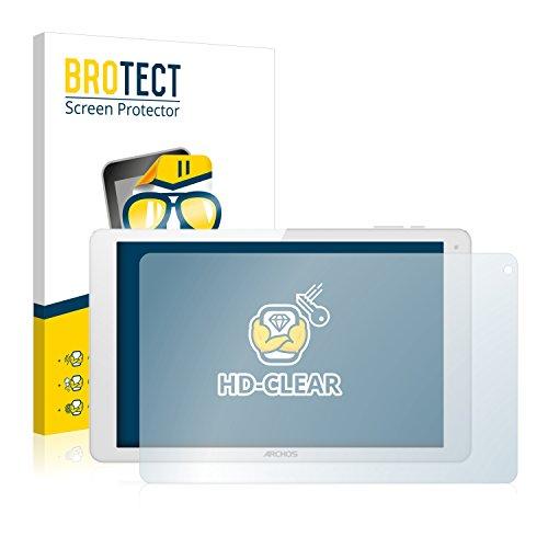 BROTECT Schutzfolie kompatibel mit Archos 101b Xenon (2 Stück) klare Bildschirmschutz-Folie