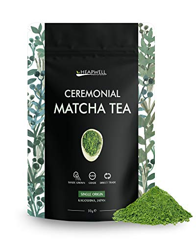 Matcha Green Tea Powder from Japan - Ceremonial 30g