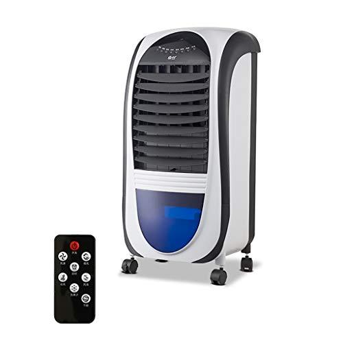 XPfj Aire Acondicionado Portátil, Móvil Evaporador Ventilador, Balanceo Automático Tanque De Agua De 9 L Casa Oficina Aire Acondicionado 3 Colores (Color : Rojo)