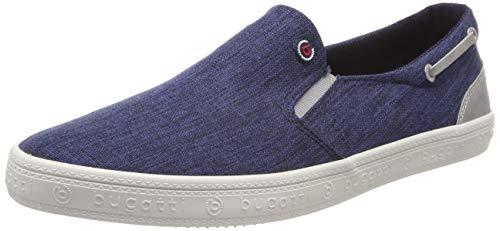 bugatti Herren 321719606900 Slip On Sneaker, Blau, 44 EU