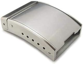 Chiusura con cinturino per cinturino 20mm, 22mm o 24mm Solido spazzolato Cinturino per orologio stile OME Chiusura (chiusu...