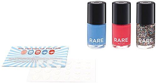 Rare Trio esmalte de uñas Art Kit, la diversión de la Feria