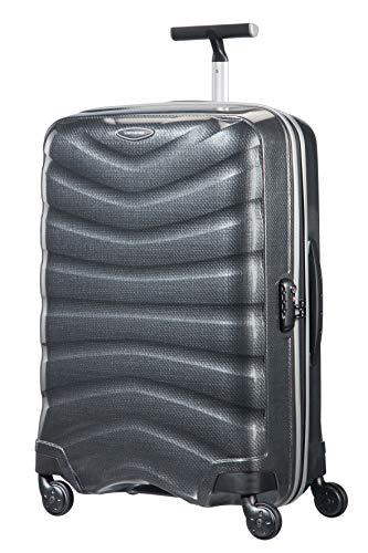 Samsonite Firelite - Spinner M Koffer, 69 cm, 77 L, Grau (Charcoal)