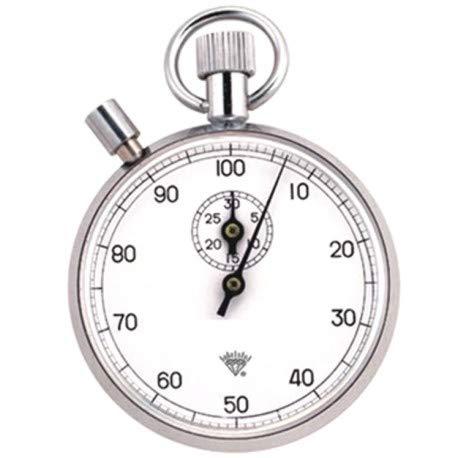 Nina-Import Cronómetro mecánico, Manual/cronómetro analógico/cronómetro clásico - Cronómetro mecánico con Esfera Dividida en 100 Segundos y Esfera Interior de 30 Minutos. - 809