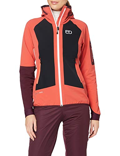 ORTOVOX Womens Col Becchei Shell Jacket, Blush, M