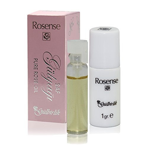 Rosense 100% Naturreines, pures Rosenöl, Pure Rose Oil - Rosa Damascena, 1er Pack (1 x 1 ml)