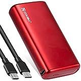 Power Bank 20000mAh Avec Deux Sorties(2.0A+2.0A) et Entrées Haute Vitesse, Chargeur Portable Coolreall Pour une Charge Rapide, Batterie Externe Compatible Avec Divers Téléphones Mobiles, iPad