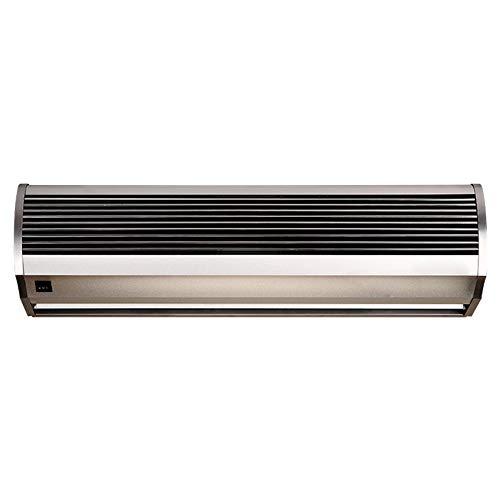 Air Curtain Cortina de Aire de Viento Natural de aleación de Aluminio silenciosa Comercial Adecuada para el hogar, la Oficina y Lugares comerciales