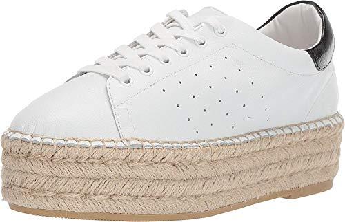 Steve Madden Damen Parade Espadrille Sneaker, Weiá (Weißes Leder), 39 EU