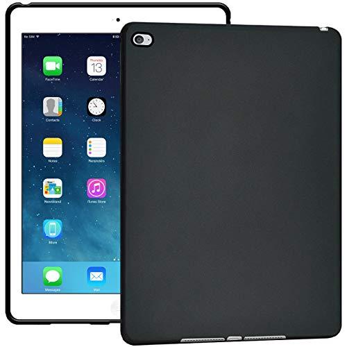 Verco Hülle für iPad Mini 4, Schutzhülle Tablet Tasche Silikon Cover [Modell: A1538 / A1550], Schwarz