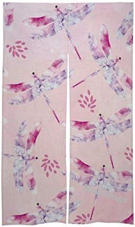 Mesllings deur en raamgordijngordijngordijnenset voor huisdecoratie 864 x 1422 cm Dragonfly Print