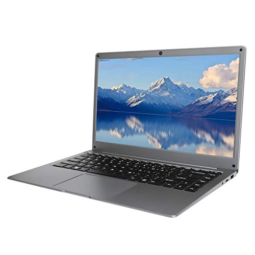 Hyuduo1 Jumper Tech Laptop, 14 Pollici FHD 1920 × 1080 Computer Portatile Tradizionale, RAM 4 GB + Rom 64 GB, Notebook per Intel Atom Quad Core X5-Z8350, WiFi + BT4.0, per windows10 Home(Argento)