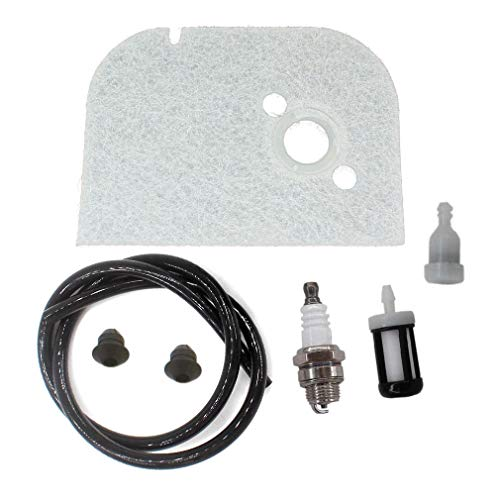 AISEN Maintenance Tune-up Kit for 009 010 011 012 ST600 AH Chainsaw Air Filter 1120-120-1600 1120-358-0700 0000-350-3502