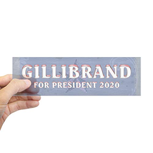 "CafePress Gillibrand 2020 10""x3"