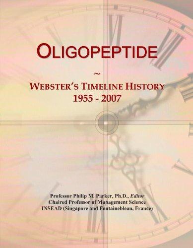 Oligopeptide: Webster's Timeline History, 1955 - 2007