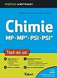 Chimie MP/MP* PSI/PSI* - Tout-en-un