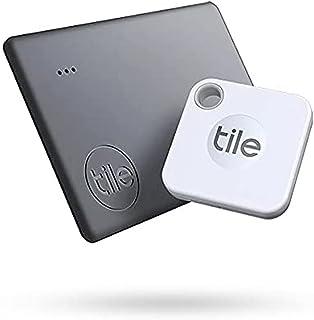 Tile Mate + Slim Combo (2020) Bluetooth-tracker, itemlocator &finder voor sleutels en portemonnees of rugzakken en tablets...