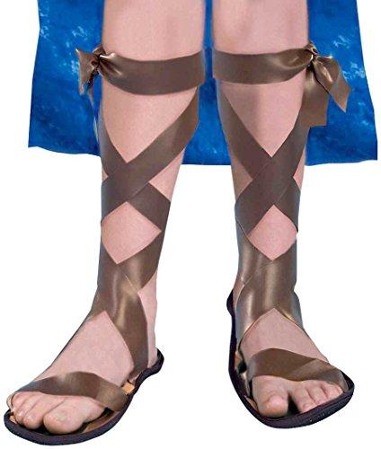 Forum Novelties Child Roman/Biblical Costume Sandals Child Large Size 4-6