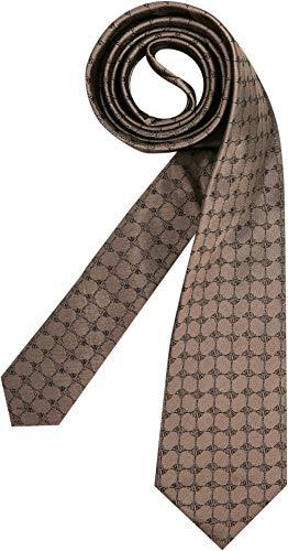 Joop! Herren Krawatte Herren-Accessoire Gemustert Braun Onesize