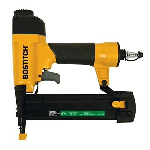 BOSTITCH Brad Nailer 18 Gauge/Narrow Crown Stapler, 2-in-1 (SB-2IN1)