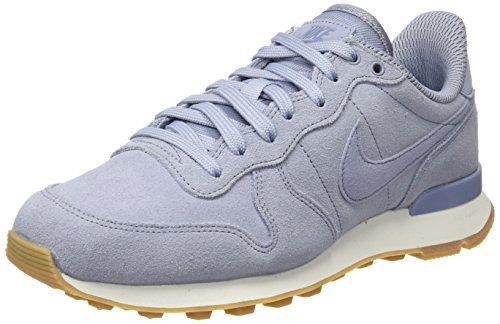 Nike Damen W Internationalist Se Gymnastikschuhe, Grau (Glacier Grey/Glacier Grey/Dark Sky Blue), 39 EU
