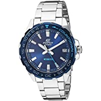 Casio Men's Edifice Quartz Stainless-Steel Strap 21 Casual Watch