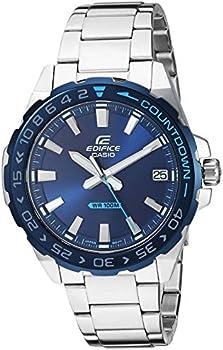 Casio Men's Edifice Quartz Stainless-Steel Strap 21 Casual Watch