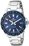 Best Casio Edifice Watches - Casio Men's Edifice Quartz Stainless-Steel Strap, Silver, 21 Review