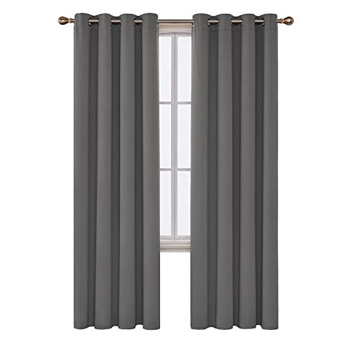 Deconovo Soild Room Darkening Blackout Thermal Insulated Noise Reducing...
