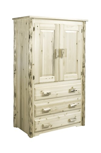 Fantastic Deal! Montana Woodworks Montana Collection Armoire, Ready to Finish