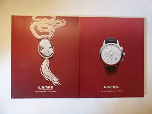 Wempe . Feine Uhren & Juwelen . Impressionen 2006 – 2007 . 2 Bände . Mit Preisliste Deutschland .