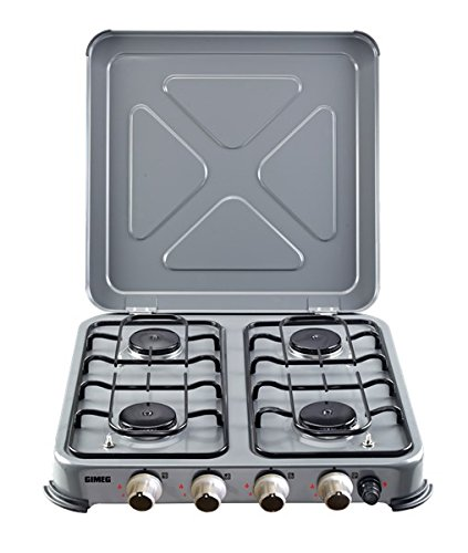 Gimeg kochegerät 4-pits grau beveiligd