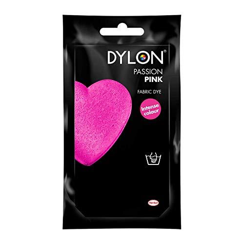 Dylon 2044042 - Tintes para tela, color rosa flamingo, 50g
