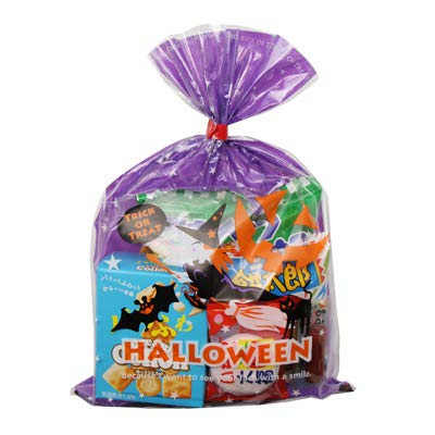 ハロウィン袋 198円 お菓子 詰め合わせ (Aセット) 駄菓子 袋詰め おかしのマーチ