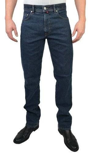 Pierre Cardin Herren DIJON Loose Fit Jeans, Blau...