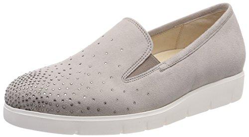 Gabor Shoes Damen Comfort Sport Geschlossene Ballerinas, Mehrfarbig (Puder (Strass), 39 EU