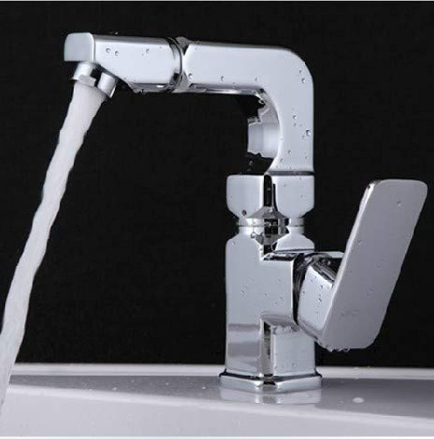 Hlluya Professional Sink Mixer Tap Kitchen Faucet Washbasin Faucet hot and cold wash basins basin sinks can be redated a full copper fittings