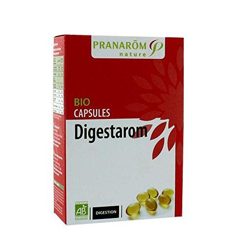 Pranarom - Capsules digestarom bio - 30 capsules - Favorise la digestion