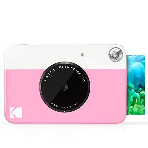KODAK Printomatic Digital Instant Print Camera - Full Color Prints On ZINK 2x3