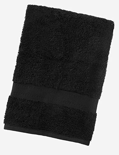 aztex Gama egipcia, Toallas 100% algodón - Toalla de baño, Negro