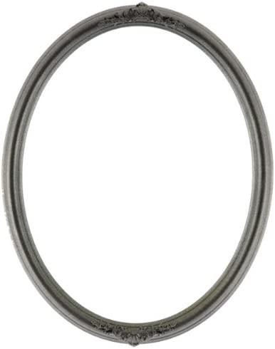 ArtToFrames Elegant 4x5 Inch 554 Oval Comes outlet Frame Silver Black with