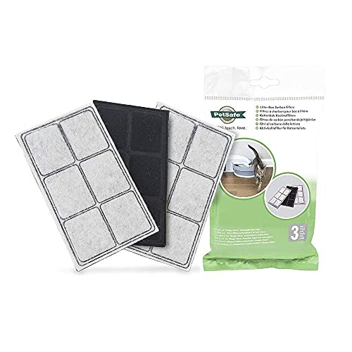 PetSafe Litter Box Replacement Carbon Filters For Use with Simply Clean...