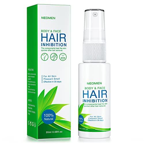 Neomen Hair Inhibitor, Painless Hair Stop Growth Spray, Premium Hair Removal Spray, Non-Irritating...