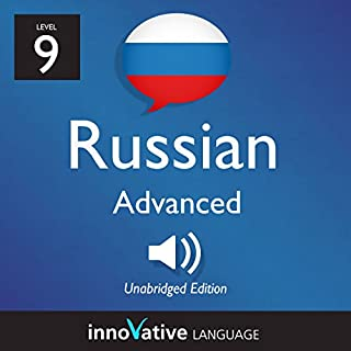 Learn Russian - Level 9 Advanced Russian audiobook cover art