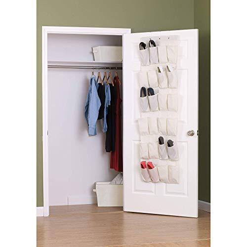 Household Essentials Over The Door 24 Packet Shoe ...