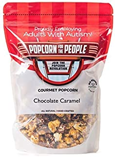 Popcorn for the People Gourmet Popcorn, Chocolate Caramel (Individual Bag)