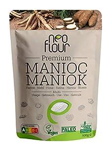 Harina de Yuca Premium / Sin gluten / 100% natural / Sin conservantes / Sin aditivos / VEGAN / PALEO / para pastelería y cocina