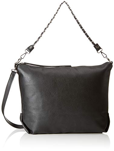 PIECES Pcfiera Bag - Borse a spalla Donna, Nero (Black), 14x30x34 cm (B x H T)
