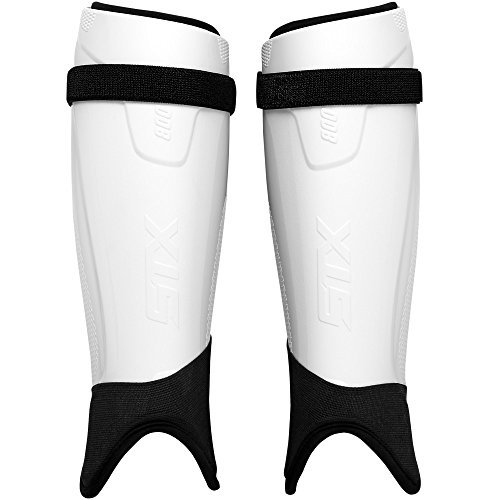 STX Field Hockey Stallion 800 Shin Guard, White S/M